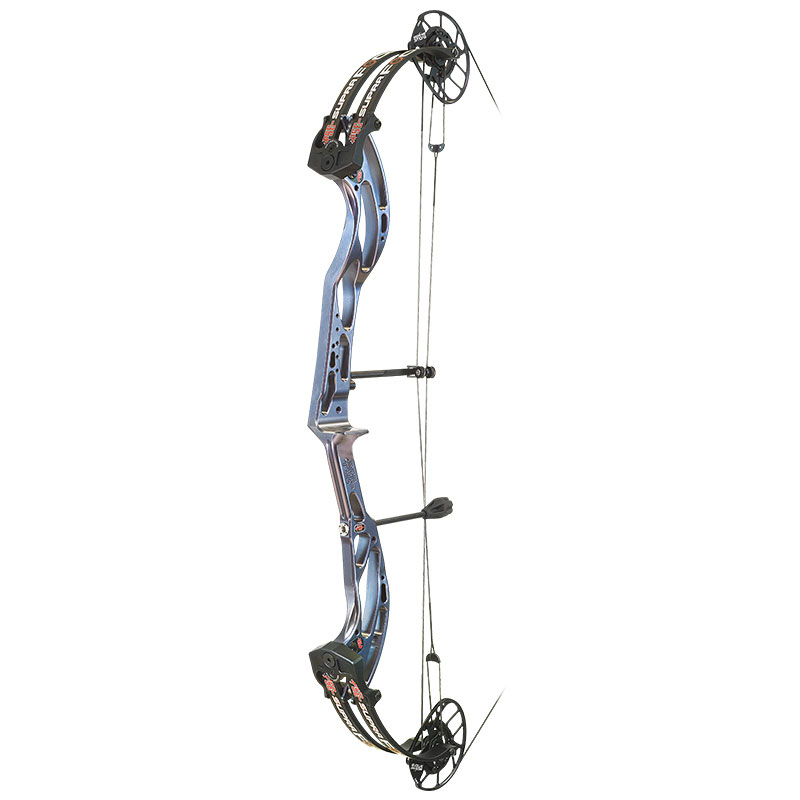 Compound target bow from PSE with a deflex riser design