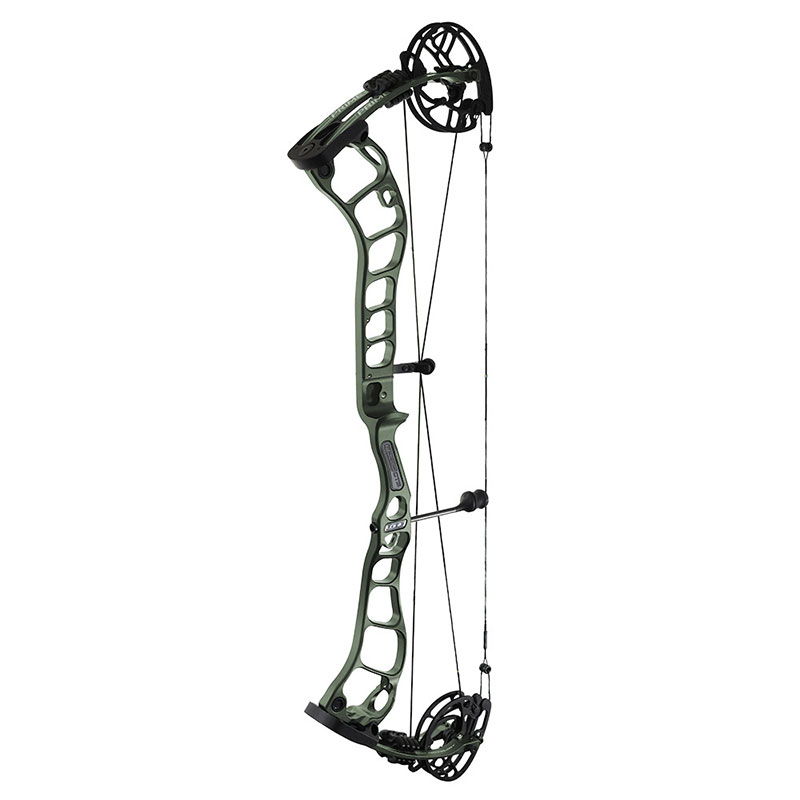 alround compound bow with parallel cams
