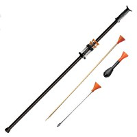 4 foot blowgun heavier for steadier aim