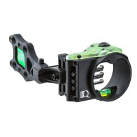 Hunting / 3D sight available in 3 or 5 pins with retina lock