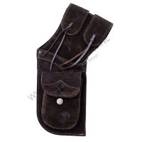 BEARPAW HIP QUIVER DARK BROWN