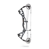 mid sized hunting bow in carbon, also suitable for 3D